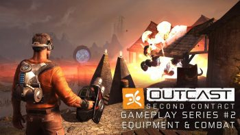 Outcast – Second Contact – Gameplay Serie – Equipment and Combat